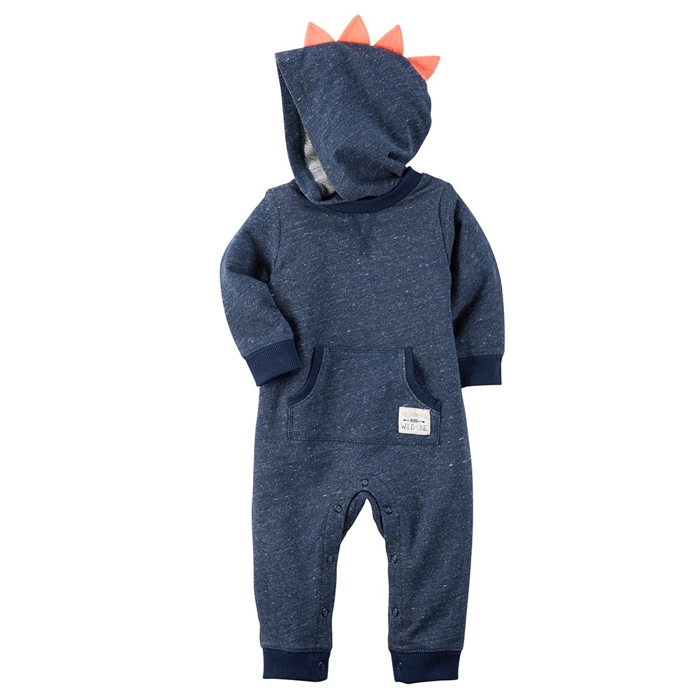 81d29f6cf2e Carter s Hooded French Terry Jumpsuit - Baby Boy