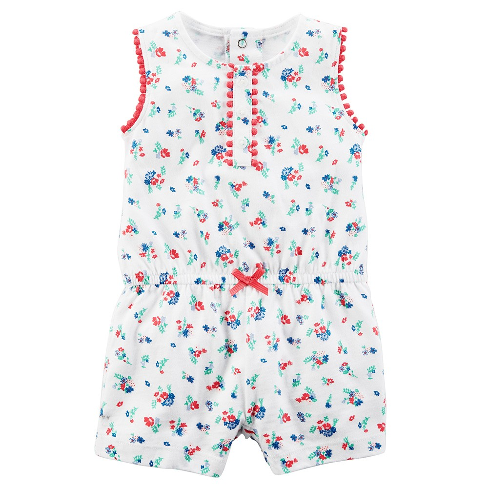 bbd6222e727 Carter s Floral Romper - Baby Girl