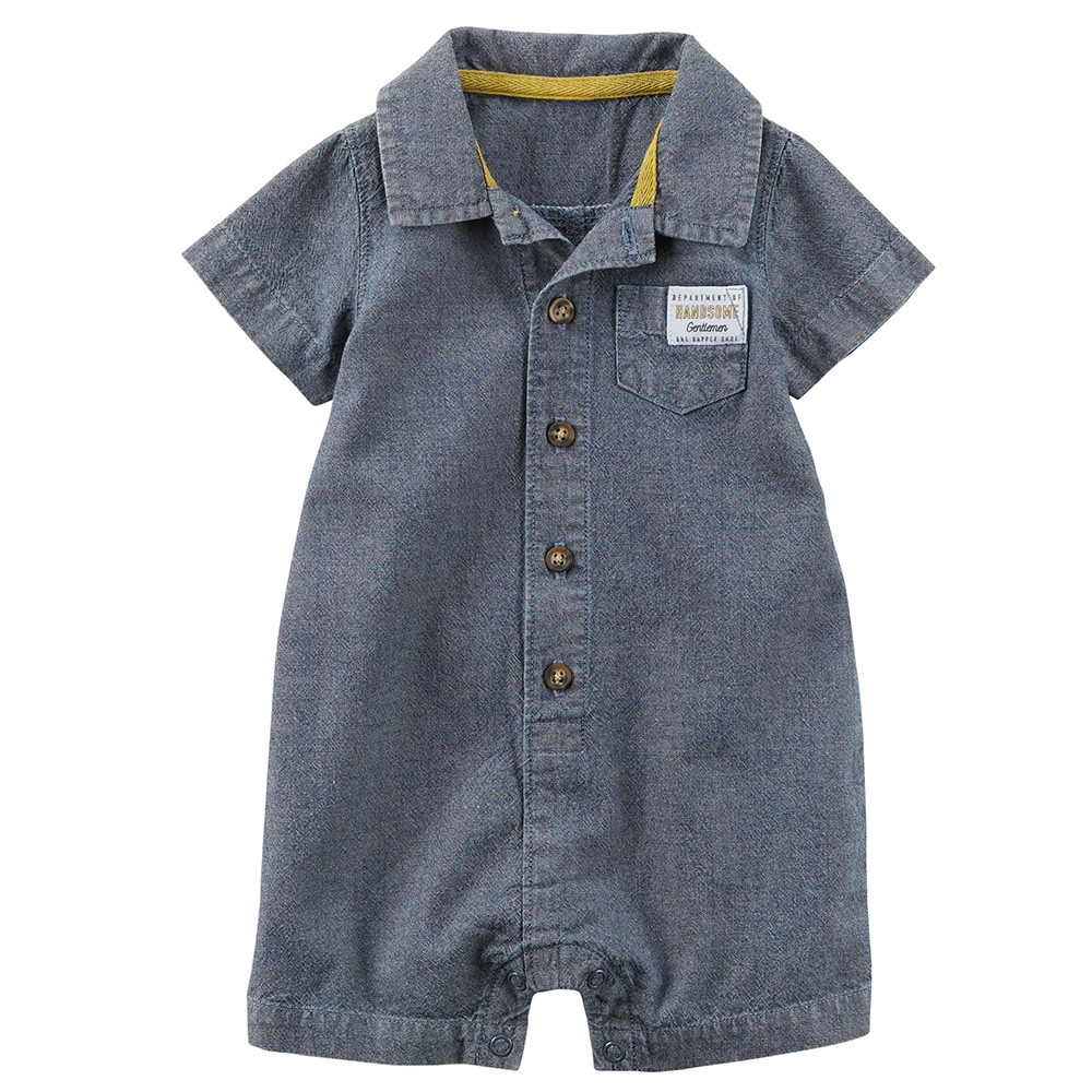 1f3af3e36b22 Carter s Chambray Romper