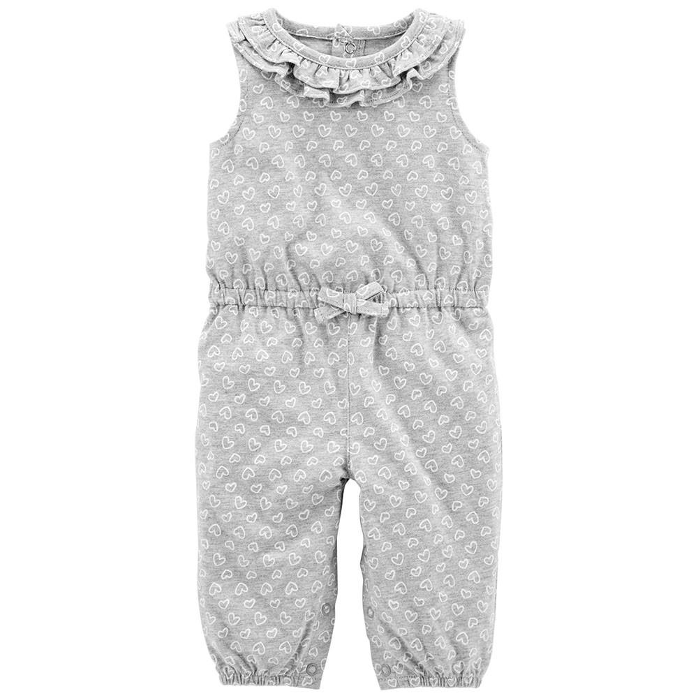 74a4d5d678e Carter s Heart Jumpsuit - Baby Girl