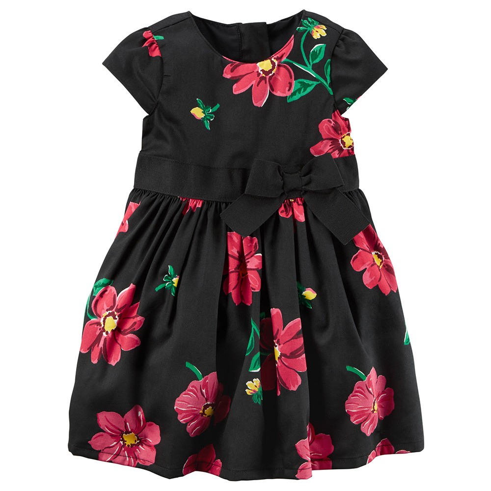 eb2ab9a5b5908 Carter's Floral Sateen Dress - Baby Girl
