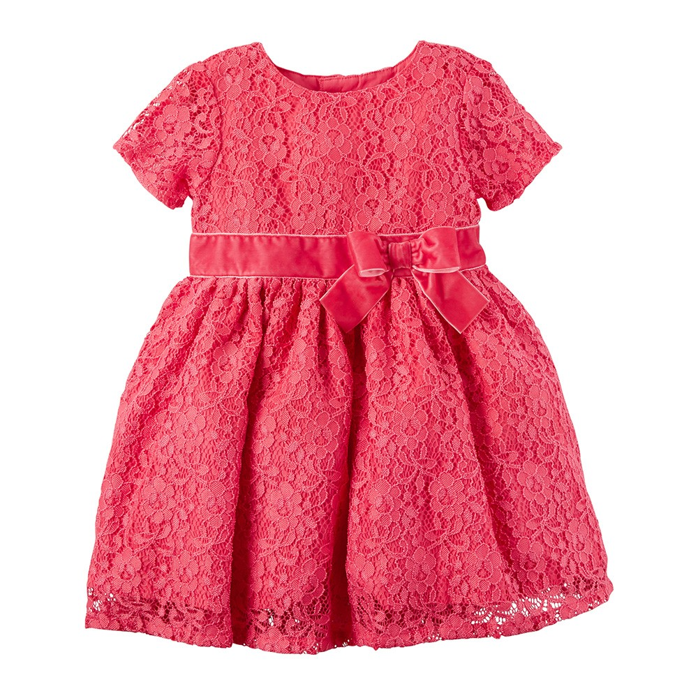2e4ad7de7d6 Carter s Lace Holiday Dress - Baby Girl