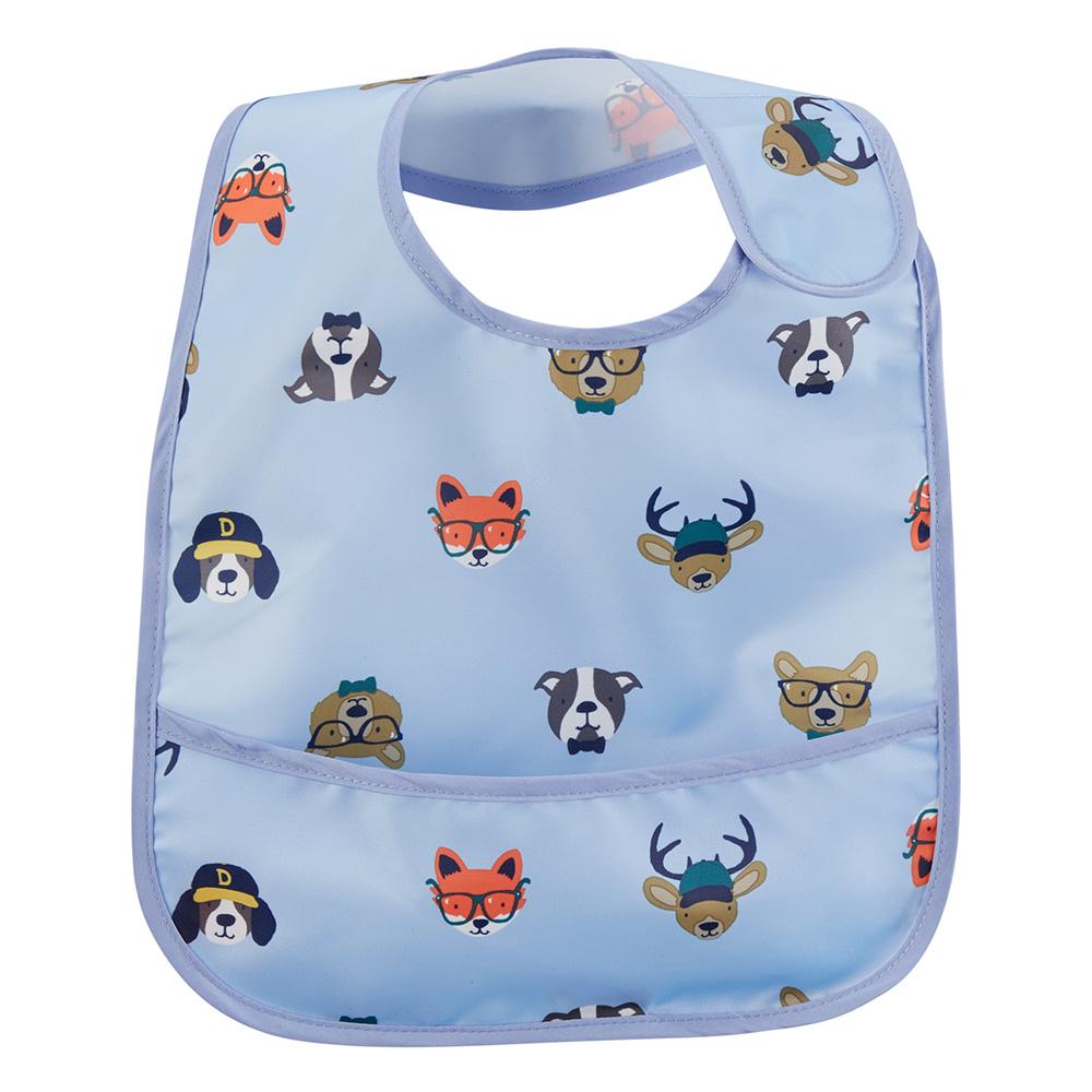 Carter s Animal Feeding Bib - Baby Boy 62016e43ad8