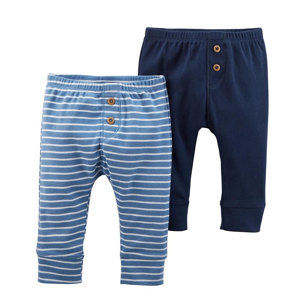 Carter S 2pk Babysoft Pants Baby Boy