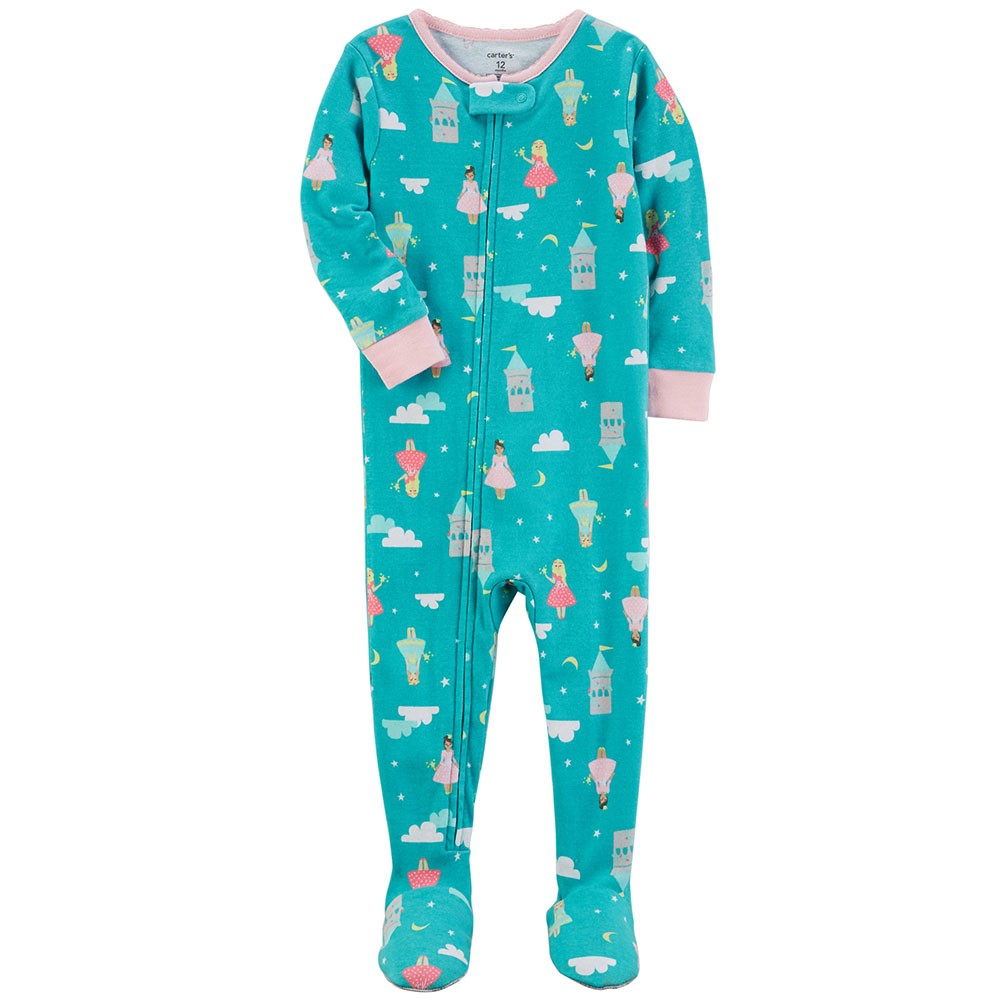 07ef4126a Carter s Snug Fit Cotton Onepiece Footed PJs