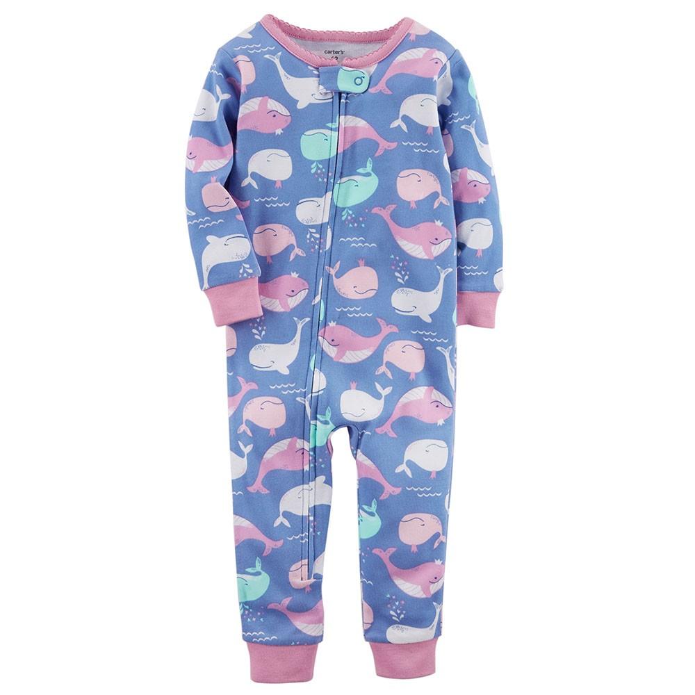 875f8eea51 Carter s Snug-Fit Cotton Onepiece Footless PJs - Baby Girl