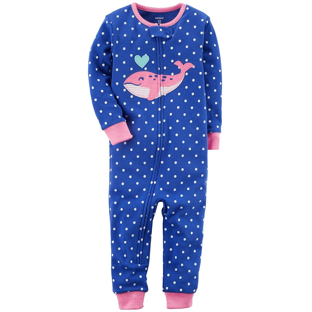 1be3e4d960fa Carter s Snug Fit Cotton Onepiece Footless PJs