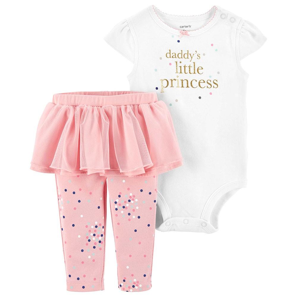 78baf221e05e Carter s 2PC Princess Bodysuit   Tutu Pant Set