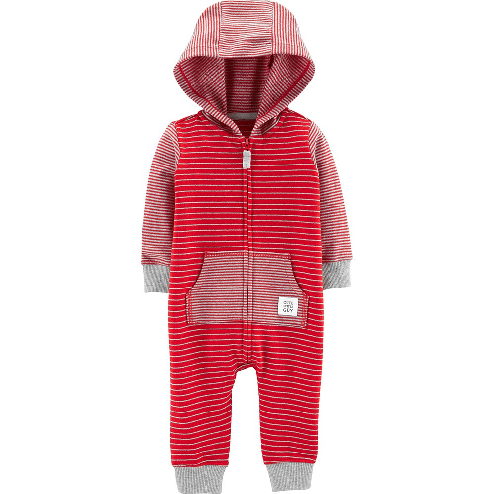 f5800351817 Carter s Hooded Striped Jumpsuit - Baby Boy