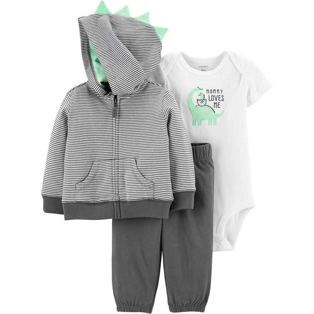 4d6538a6e51ad Carter's 3PC Dinosaur Little Jacket Set - Baby Boy