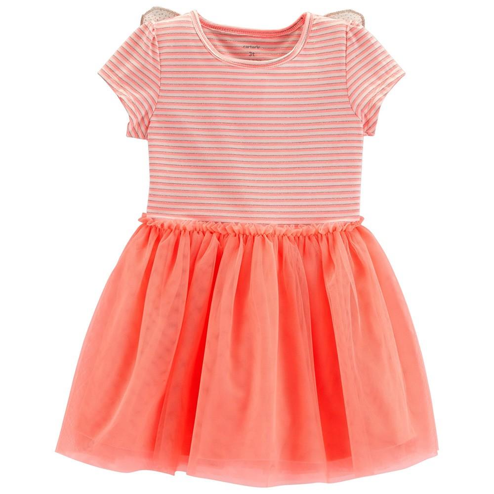 eafc125a9a810 Carter's Neon Butterfly Tutu Dress
