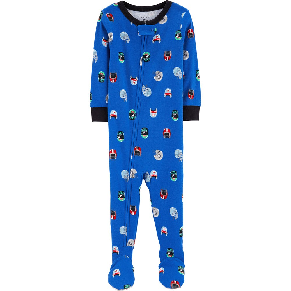 5a4feb03a00a Carter s Snug Fit Cotton Onepiece Footed PJs