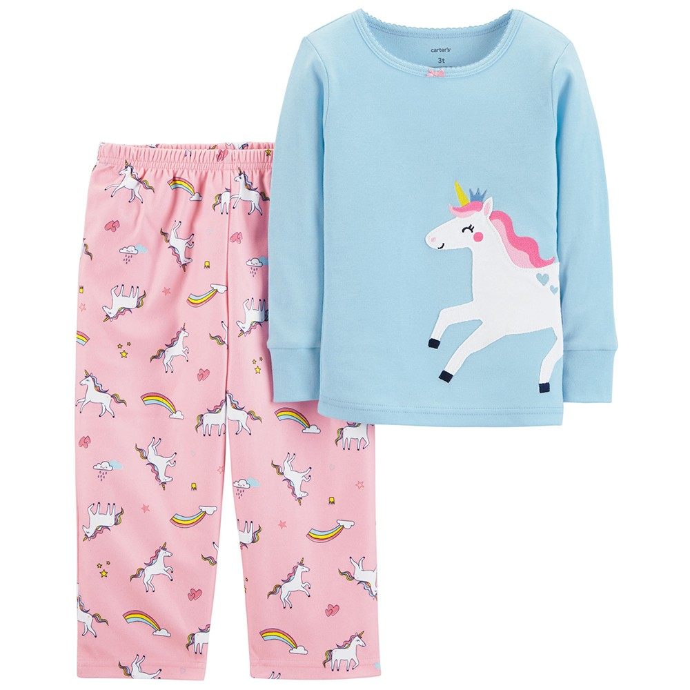 848b0b02a Carter's Snug Fit Cotton Onepiece PJs - Toddler Girl
