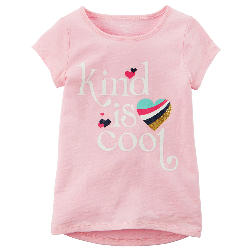 aac54fe6 Carter's Kind Is Cool Graphic Tee - Toddler Girl