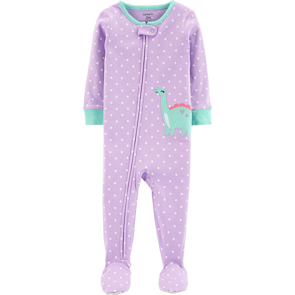 62679046c Carter s Snug Fit Cotton Onepiece Footed PJs
