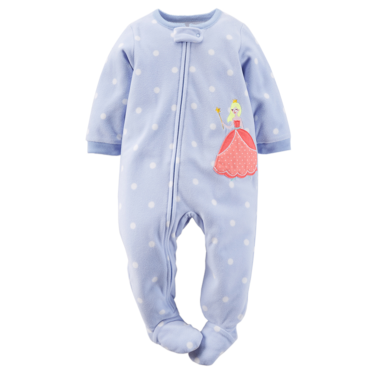 9135e0515 Carter s Blue Spot Princess Romper