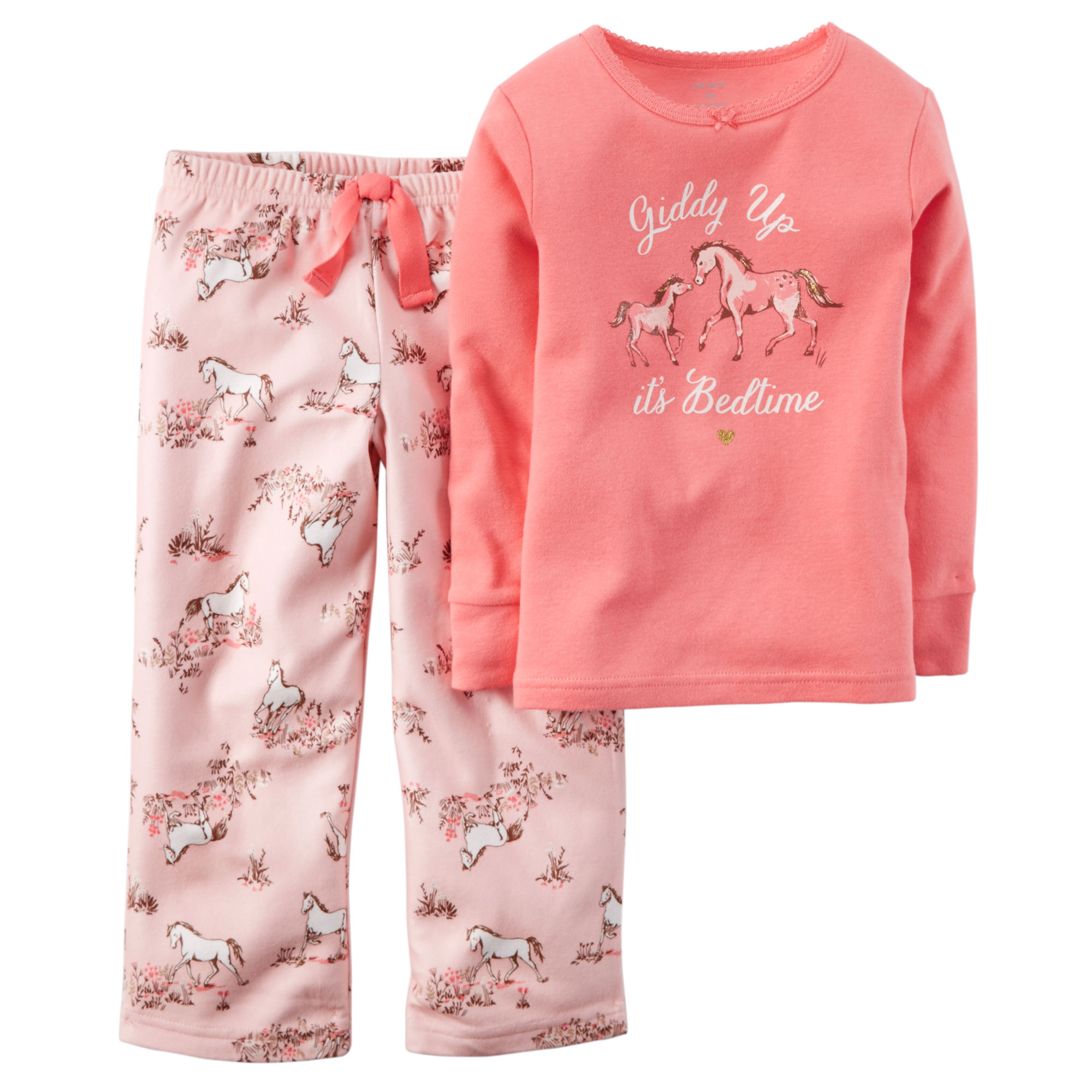 4d208669d9 Carter s Pink Horse Set - Toddler Girl